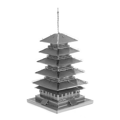 3D Metal Model DIY Kit Five Tower Puzzle Toys