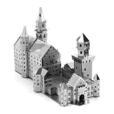 3D Metal Model Swan Castle Suite Jigsaw Puzzle