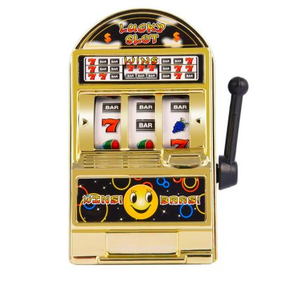 Novelty Mini Lucky Slot Machine Funny Anti-stress Toy