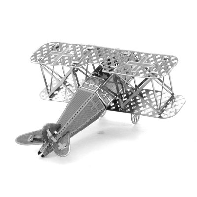3D Metal Model Wing Fighter Puzzle Toy