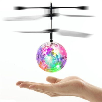 Dazzle Color Luminescent Crystal Ball Induction Toy