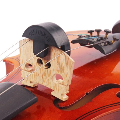 Acoustic Rubber Violin Mute Fiddle Silencer for Sourdine Tools