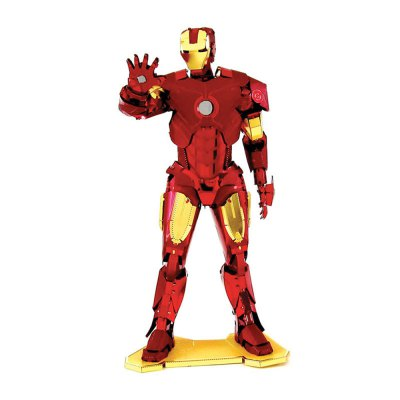 Creative Hero 3D Metal High-quality DIY Laser Cut Puzzles Model Toy