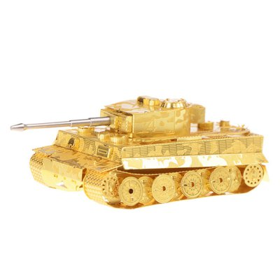 Creative Tiger Tank 3D Metal High-quality DIY Laser Cut Puzzles Model Toy