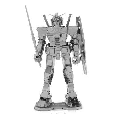 Creative Robot Warrior 3D Metal High-quality DIY Laser Cut Puzzles Model Toy