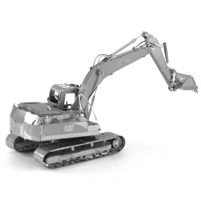 Creative Excavator 3D Metal High-quality DIY Laser Cut Puzzles Model Toy
