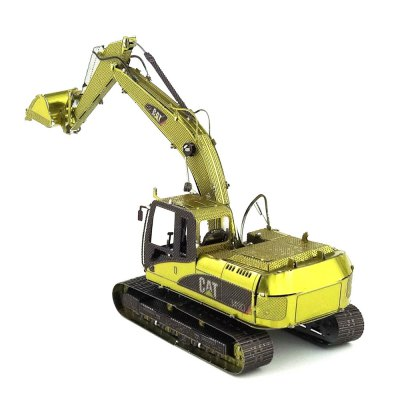 Creative Color Excavator 3D Metal High-quality DIY Laser Cut Puzzles Model Toy