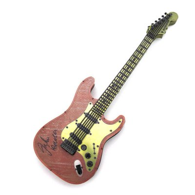 Creative Color Guitar 3D Metal High-quality DIY Laser Cut Puzzles Model Toy