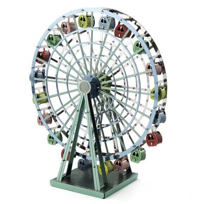 Creative Ferris Wheel 3D Metal High-quality DIY Laser Cut Puzzles Model Toy