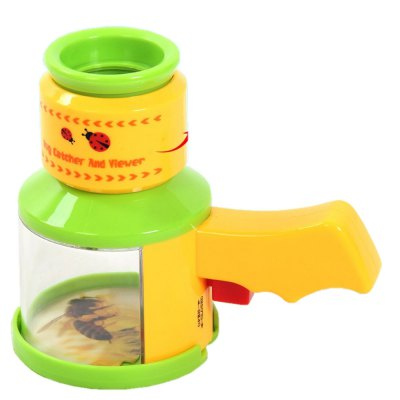 Child Toy Insect Trap Viewer Scientific Exploration Microscope Kindergarten