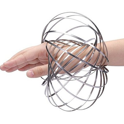Spring Toy - Multi Sensory Interactive 3D Shaped Flow Ring