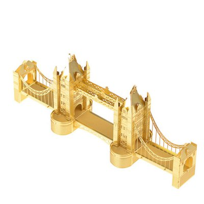 Creative Tower Bridge Lond 3D Metal High-quality DIY Laser Cut Puzzles Model Toy