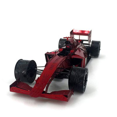 Creative F1 Racing 3D Metal High-quality DIY Laser Cut Puzzles Model Toy
