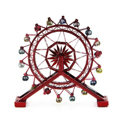 Creative Rotating Ferris Wheel 3D Metal High-quality DIY Laser Cut Puzzles Model