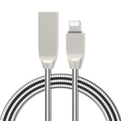 Zinc Alloy Spring Charging Cable 8 Pin Devices