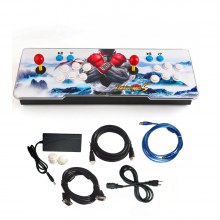 999 in 1 Video Games Arcade Console Machine Double Stick Home Pandora's Key 5s,EU Plug 1