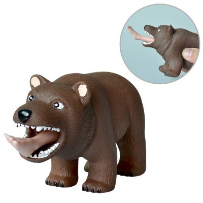 Rubber Man Eating Bear Squeeze Toy