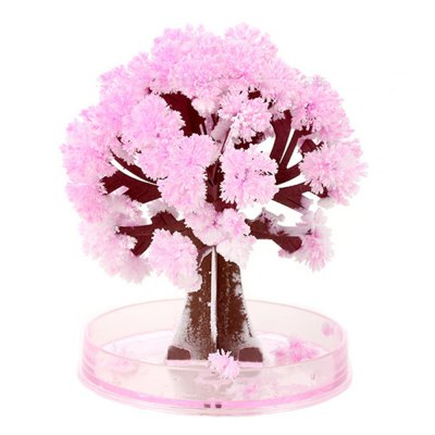 Creative DIY Cherry Paper Tree Blossom Model Toy