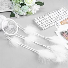 Creative Dream Catcher White Feather Wind-Bell Hanging Decorations
