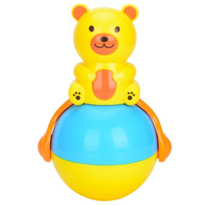 Music Lights Roly-poly Baby Rattles Tumbler Doll Toys Sweet Learning Education