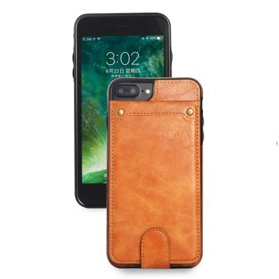 for iPhone 7 Plus / 8 Plus Cover Detachable Wallet Case with Card Slots