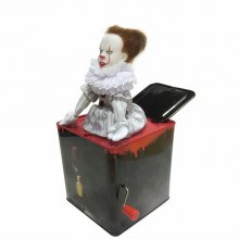 Novelty Bouncing Joker Jack in the Box Music Toy