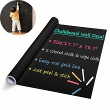 DIY Chalkboard Decals Removable Washable Wall Stickers