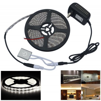 Automatic Small Touch Sensor Switch Brightness Adjustment Touch Dimmer with 5M 5050SMD LED Light Strip