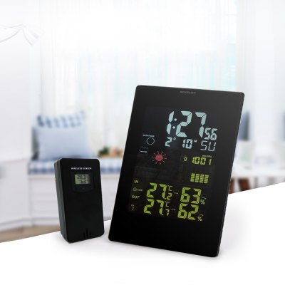 Multifunction Wireless Colorful Display Digital Weather Forecast Station