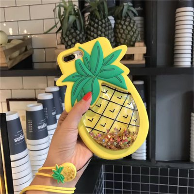 Flowing Star Paillette Pineapple Soft Case with Strap for iPhone 6 / 6siPhone Cases/Covers<br>Flowing Star Paillette Pineapple Soft Case with Strap for iPhone 6 / 6s<br><br>Features: Anti-knock, Dirt-resistant<br>Material: Silicone<br>Package Contents: 1 x Case<br>Package size (L x W x H): 18.50 x 11.00 x 1.50 cm / 7.28 x 4.33 x 0.59 inches<br>Package weight: 0.1100 kg<br>Product size (L x W x H): 17.00 x 10.00 x 1.00 cm / 6.69 x 3.94 x 0.39 inches<br>Product weight: 0.1000 kg<br>Style: Fruits Pattern
