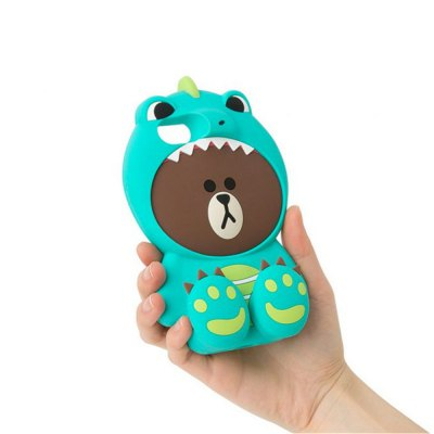 3D Cute Dinosaur Bear Cartoon Kawaii Soft Silicone Case for iPhone 6 / 6SiPhone Cases/Covers<br>3D Cute Dinosaur Bear Cartoon Kawaii Soft Silicone Case for iPhone 6 / 6S<br><br>Features: Anti-knock, Dirt-resistant<br>Material: Silicone<br>Package Contents: 1 x Case<br>Package size (L x W x H): 19.00 x 13.00 x 4.00 cm / 7.48 x 5.12 x 1.57 inches<br>Package weight: 0.1700 kg<br>Product size (L x W x H): 18.00 x 12.00 x 3.00 cm / 7.09 x 4.72 x 1.18 inches<br>Product weight: 0.1600 kg<br>Style: Cartoon