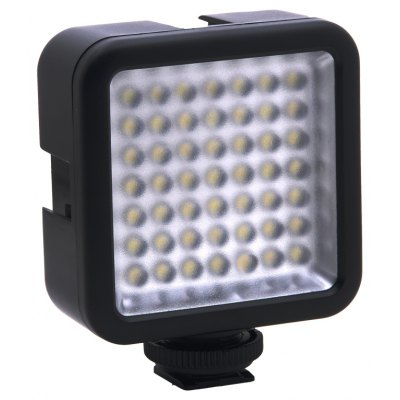 Mini 49 LED Video Light for Canon / Nikon DSLR Camera Camcorder DVR DV