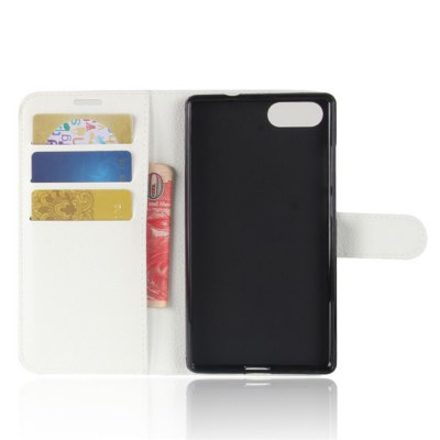 Solid Color Litchi Pattern Wallet Style Front Buckle Flip PU Leather Case with Card Slots for Doogee MixCases &amp; Leather<br>Solid Color Litchi Pattern Wallet Style Front Buckle Flip PU Leather Case with Card Slots for Doogee Mix<br><br>Package Contents: 1 x Litchi Pattern Faux Leather Case<br>Package size (L x W x H): 15.00 x 18.00 x 5.00 cm / 5.91 x 7.09 x 1.97 inches<br>Package weight: 0.1100 kg<br>Product weight: 0.0300 kg