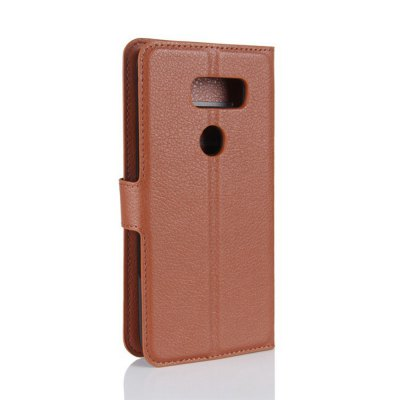 Solid Color Litchi Pattern Wallet Style Front Buckle Flip PU Leather Case with Card Slots for LG V30Cases &amp; Leather<br>Solid Color Litchi Pattern Wallet Style Front Buckle Flip PU Leather Case with Card Slots for LG V30<br><br>Package Contents: 1 x Litchi Pattern Faux Leather Case<br>Package size (L x W x H): 15.00 x 18.00 x 5.00 cm / 5.91 x 7.09 x 1.97 inches<br>Package weight: 0.1100 kg<br>Product weight: 0.0300 kg