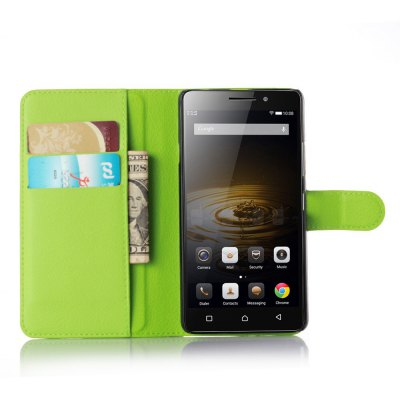 Solid Color Litchi Pattern Wallet Style Front Buckle Flip PU Leather Case with Card Slots for Lenovo Vibe P1mCases &amp; Leather<br>Solid Color Litchi Pattern Wallet Style Front Buckle Flip PU Leather Case with Card Slots for Lenovo Vibe P1m<br><br>Package Contents: 1 x Litchi Pattern Faux Leather Case<br>Package size (L x W x H): 15.00 x 18.00 x 5.00 cm / 5.91 x 7.09 x 1.97 inches<br>Package weight: 0.1000 kg<br>Product weight: 0.0300 kg