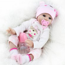 Adorable Simulation Lifelike Newborn Silicone Baby Doll