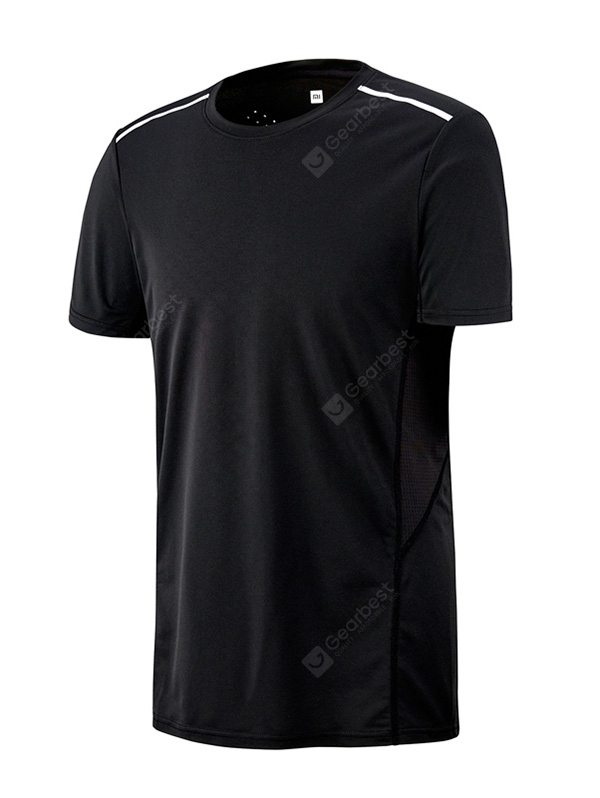 Xiaomi Breathable Quick-drying Reflective Sports T-shirt