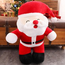 393 Christmas Cute Santa Plush Toy Doll (small Paragraph)