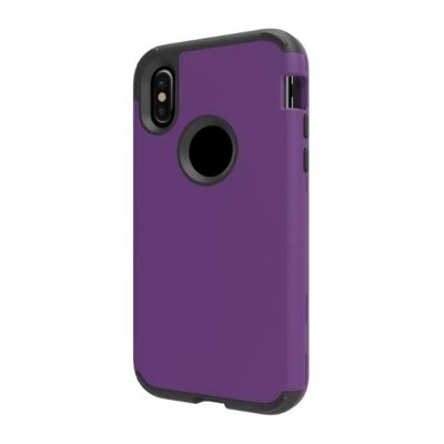 For iPhone X Case Shockproof 3 in 1 Hybrid Hard PC and Soft Silicone Cover