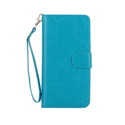 Premium Leather Phone Wallet Case Cover for iPhone 7 Plus