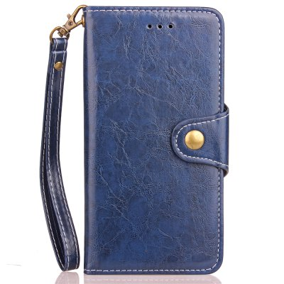 for Lenovo A1010 Vintage Business Leather Jacket and Buckle Card Holder TPU Case