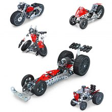 Motorcycle Set 5 in 1 Model with Durable Metal Plastic Parts Ergonomic Tools