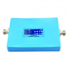 LCD Smart Mobile Phone 2G 4G Signal Booster 900MHz 1800MHz GSM DCS Repeater