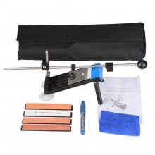 Professional Kitchen Knife Sharpener Sharpening New products gadgets Updated Fix Fixed Angle with 4 stones I