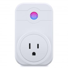 Smart Wi-Fi Socket Plug Outlet Timer Control Power ON/OFF Electronics - Compatible with Amazon Alexa US Plug