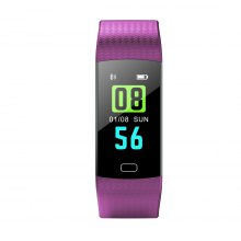 Diggro DB-07 Smart Sport Bracelet Fitness stater HD Color Screen Heart Rate Blood Pressure Blood Oxygen Monitor Sleeping Monitor Call Message Reminder Remote Camera IP67 Waterproof for Android IOS