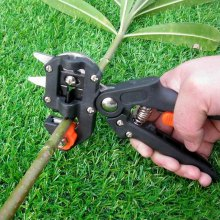 Professional Garden Grafting Tool Pruner with Extra 2 Blades