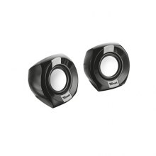 TRUST ALTAVOCES 2.0 POLO COMPACT 8W RMS USB NEGRO