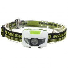 brelong LED Headlamp 3 LEDs White Red Light 3W