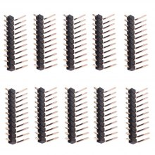 Copper Single Row Straight Male Pin Headers for Guitar Pickup 10pcs